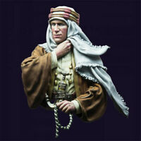 1/10 T.E.Lawrence Resin Bust Model Kits Unpainted GK Unassembled