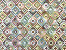 Kilim tapisserie multi H6 géométrique réversible rideau lumière recouvert de tissu