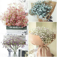Artificial Fake Flower Babys Breath Gypsophila Silk Flowers Bouquet Home Decor*1