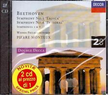 Beethoven: Sinfonie No 3 & 6 / Pierre Monteux, Wiener Philarmoniker - CD