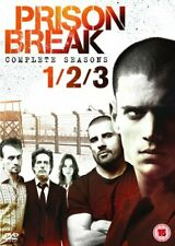 Prison Break - Season 1-3 [DVD] NEW AND SEALED - The Cheap Fast Free Post