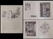 CONSTRUCTION MODERNE 1927 REIMS, HOTEL ROCHAMBEAU PARIS, 4 RUE DE LA BOETIE