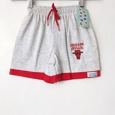 vintage chicago bulls shorts baby salem toddler OSFA deadstock NWT 90s