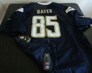ANTONIO GATES San Diego CHARGERS Football NIKE Replica 3XL Jersey NFL Blue NEW