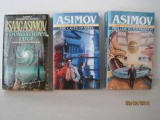 Isaac Asimov Books, Lot of 3