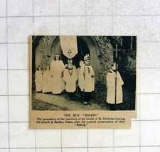 1919 Guild Of St Nicholas Leaving Berden Church Essex, Boy Bishop