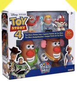 ✅ New Pixar Disney Pixar Toy Story 4 Mr. Potato Head Potato Pals 30 Piece Set Sp