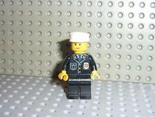 Minifig lego Police  figurine Policier avec légère barbe set 7744. Réf.20