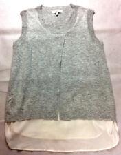Ripe Maternity Top Short Sleeve Vest Grey Size Large