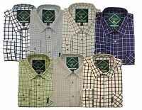 Country Classics Quality Check Shirts Mens Long Sleeve S-5XL Free PP From £15.99