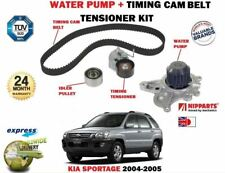 FOR KIA SPORTAGE 2.0 CRDI D4EA 2004-2005 TIMING CAM BELT KIT + WATER PUMP SET