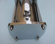 Lowrider Hydraulics 2 tanks & 2 plates & rods & plugs kit, chrome