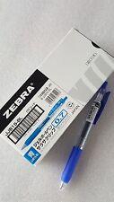 Zebra Sarasa retractable gel ink pen 0.7mm x10 pcs blue