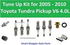 Tune Up For 2005 - 2010 Toyota Tundra V6 4.0L Spark Plug Air Filter, Oil Filter