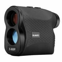 Golf Rangefinder Entfernungsmesser Range Laser 5-600m 6x Geschwindigkeitsmessung