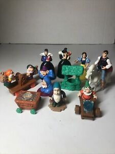 1992 Disney Snow White and the Seven Dwarves McDonald's Happy Meal Toy Set Of 10