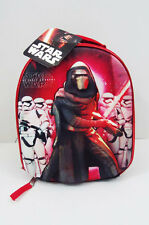 """Star Wars Kylo Ren 3D Insulated Lunch Tote Bag 10"""" X 8"""" X 4.5"""" New Disney"""