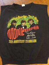 Monkees 20th Anniversary Celebration World TourSleeveless 1986 Sweatshirt Size L