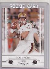 MATT RYAN 2008 PLAYOFF PRESTIGE Rookie Card RC #179 ATLANTA FALCONS!