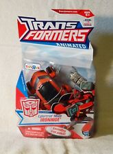 Transformers Animated Ironhide New In Box Toys R Us Exclusive