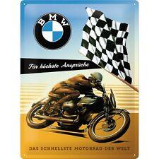 BMW para más Alto Reclamaciones Letrero de Metal 3D en Relieve Cartel Lata 30X