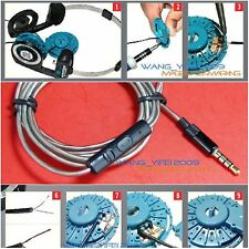 Upgrade Silver Plated Microphone Cable For KOSS Porta Pro Portapro PP Headphone