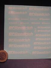 DECALS 1/43 - 1/32 - 1/24 - 1/18 BF GOODRICH BLANC - T390
