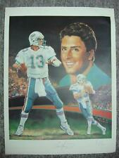 DAN MARINO AUTOGRAPHED ANGELO MARINO LITHOGRAPH ALSO SIGNED BY ARTIST