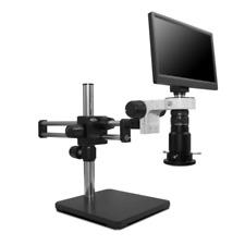 Scienscope Mac3 Pk5d R3 Macro Digital Inspection System With Led Light On Dual