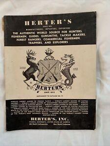 Herter's 1961 catalog supplement