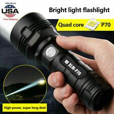 Super-bright 90000lm Flashlight Shadowhawk CREE LED L20/P70 Tactical Torch USB