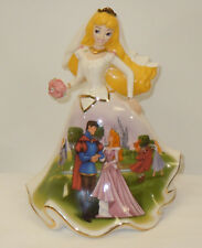 Bradford Exchange   Happily Ever After Sleeping Beauty Bell Figurine