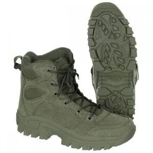 MFH Stiefel Commando oliv Outdoor Schuhe Wanderschuhe Einsatzstiefel Trekking