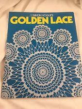 Crochet Doilies- Golden Lace Crochet In English RARE & HTF, Nihon Vogue