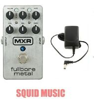 MXR M116 Fullbore Metal Distortion Guitar Effects Pedal M-116 ( FREE ADAPTER )