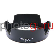 Paraluce compatibile EW-60CII per Canon EF-S 18-55 18-55mm IS 28-80 USM EW60C II