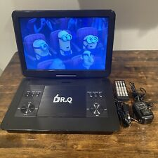 "DR.Q 14.1"" Portable DVD Player TV Support USB/SD Compatible. Minimally Used."
