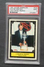 1991 Score #434 Wayne Gretzky PSA 9