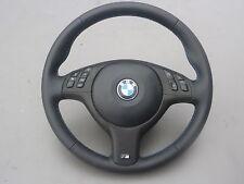 NUOVO! VOLANTE IN PELLE BMW e46 e39 M VOLANTE CON PANNELLO FRONTALE MULTI radio. e airbag (2)