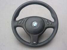 NEU! Lederlenkrad BMW E46 E39 M Lenkrad mit Blende Multifunk. und Airbag (2)