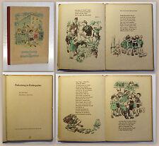 Engel & Hain Geburtstag im Kindergarten Erstausgabe 1955 Kinderbuchverlag xz
