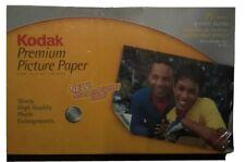 Kodak Premium Picture Paper for Inkjet Printers 25 sheets