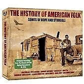 The History Of American Folk (3 CD) [SAME DAY DISPATCH * NEW SEALED]