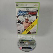 WWE Smackdown vs Raw 2007 Xbox 360 Sport Wrestling Video Game PAL