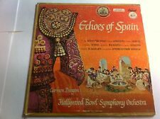 THE HOLLYWOOD BOWL SYMPHONY ORCHESTRA - ECHOES OF SPAIN 33 GIRI