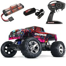 Traxxas Stampede XL-5 2WD RTR RC Truck w/Battery & Quick Charger HAWAIIN EDITION