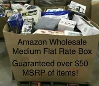 Amazon Wholesale Lot, MSRP $50 Electronics, Toys, General Merchandise