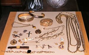 Fab 29pc GOLD JEWELRY LOT Gold Filled & Plated~18K~14K~12K~10K Old & New 250g