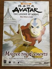 Avatar Legend Of Aang DS Promo Poster A2 Advertisement Rare Original PlayStation