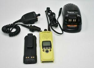 MOTOROLA Yellow XTS5000 Bundle Digital Police Fire EMS RADIO H18UCF9PW6AN XTS
